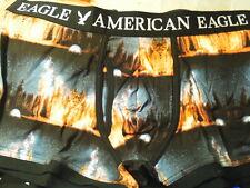 "1 PR AMERICAN EAGLE ""FIRE IN DARK SKY"" COTTON KNIT BOXER~MENS SIZE XL"