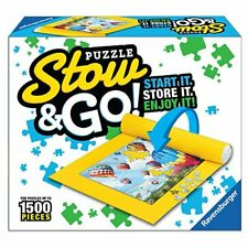 """Puzzle Stow and Go Storage System Roll up mat 46""""X26"""" Ravensburger NEW"""
