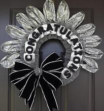 "24"" Wonderful Unique Handmade Party Wreath - Congratulations!!!"