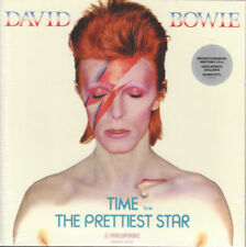 "David Bowie Time / The Prettiest Star Brooklyn Museum RARE 7"" Silver vinyl New"