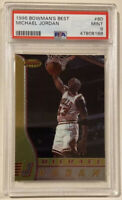 1996-97 Bowman's Best MICHAEL JORDAN Basketball Card #80 PSA 9 MINT HOF Bulls