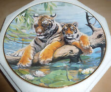 R DOULTON  - WATER LOGGED - TIGER PLATE - (G904)