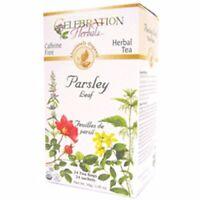 Organic Parsley Leaf Tea 24 Bags by Celebration Herbals
