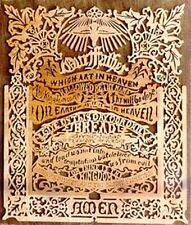 Small Lord's Prayer Scroll Saw Plan