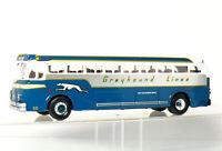 Corgi 98470 Bus Yellow Coach CHICAGO G285 GREYHOUND LINES Silverside 743 OVP