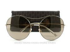 New Gucci Sunglasses GG 4252/s J5GXS Gold Brown Authentic