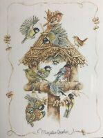 Marjolein Bastin Gathering Cross Stitch Pattern Birds Perched Leisure Arts 3170