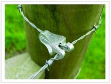10no T Clip 2 Gripple - For Barbed Wire and Agricultural Fencing End - Strainer