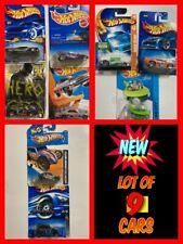 New listing Lot of 9 Assorted Hot Wheels Die-Cast Cars New In Sealed Cards