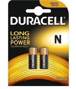 Duracell LR1 N size 1.5V Alkaline Batteries MN9100 E90 2 x battery