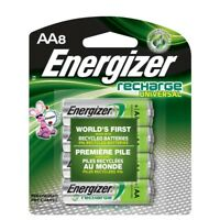 AA8 AA Energizer Universal Rechargeable NiMH Batteries  (8/pack) 2000mAh