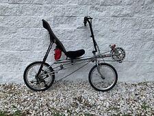 Rans Rocket Recumbent Bicycle Dual 20� Wheels 24 Speed - Nice!
