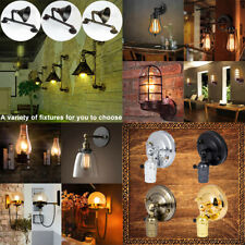 Retro Vintage Industrial Wall Mounted Lights Modern Rustic Sconce Lamps Fixture