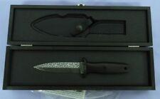 BOKER KNIFE 120570DAM  APPLEGATE BOOT BLADE SPIROGRAPH DAMASCUS SPECIAL RUN WOW!