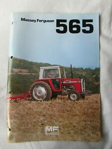 @Massey Ferguson 565 Tractor Brochure-10 Pages@