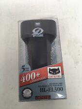 NIP Cateye Power Opticube HL-EL3000 LED Bicycle Headlight400+ Candlepower