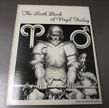 1980 The Sixth Book Virgil Finlay Hc/Dj Vf+/Fvf #317/1300 Gerry De La Ree 128p