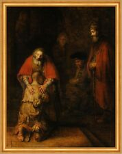 Return of the Prodigal Son Rembrandt van Rijn Sankt Sohn Vater Kind B A2 03153