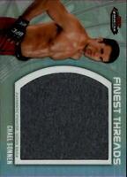2012 Finest UFC Finest Threads Jumbo Fighter Relics Card #JFTCS Chael Sonnen