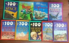 Lot 9 100 FACTS Miles Kelly Science History books THINGS YOU SHOULD KNOW ABOUT