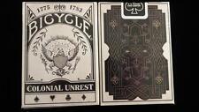Bicycle colonial unrest Deck standard Edition poker jeu de cartes
