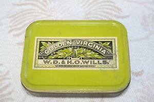 Golden Virginia Tobacco Tin Vintage.