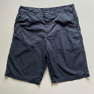 Paul & Shark Chino Shorts Navy Blue Medium 34 Waist RRP £100