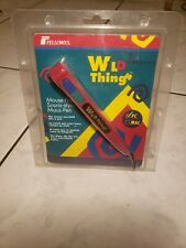 Fellowes Wild Things Mouse Pen For PC  - Vintage tested working.