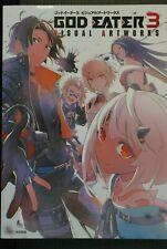 JAPAN God Eater 3 Visual Artworks (Art Book)