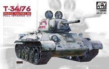 AFV Club AF35144 1/35 T-34/76 1943 (SUPERB DETAILED INTERIOR)