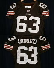 Joe Andruzzi Autographed/Game-Used Cleveland Browns Jersey