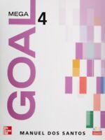 Mega goal 4 student book con cd (Español) Tapa blanda Manuel Dos Santos