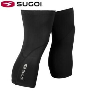 Sugoi Midzero Cycling Knee Warmers - Black - Sizes S, M, L