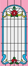 Dollhouse 1/12 Scale Classics Simulated Leadlight Stained Glass Window Insert 03