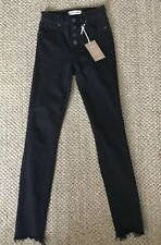 """Madewell 9"""" High-Rise Skinny Jeans in Berkeley Black: Button-Through Edition 23"""