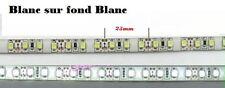 1 bande 30cm Led Blanche sur fond BLANC ==> tuning / modélisme