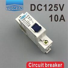 1P 10A DC 125V Circuit breaker MCB C curve