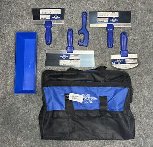 Marshalltown 6 Pc. Drywall Tool Kit Set W/ Nylon Bag DWTK-L - New