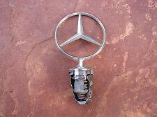 Mercedes Hood Star Emblem Ornament 1248800086 W123 W124 W201 W126 Used Nice