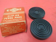 NORS 1932-40 Ford pedal pad covers No Reserve 1933 1934 1935 1936 1937 1938 1939