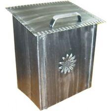 Cassetta porta pane forgiata nera