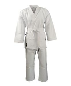 Zett Light White Karate Uniform