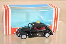 TEKNO 819 VW VOLKSWAGEN BEETLE BLACK POLIS POLICE CAR MINT BOXED nl