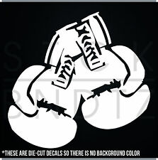 BOXING GLOVES UFC USA CUTE FUNNY DECAL STICKER MACBOOK CAR WINDOW MOTORCYCLE