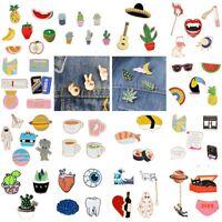 16 Styles Cartoon Enamel Brooch Pin Collar Lapel Breastpin Women Jewelry Gift