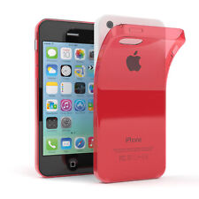 Ultra Slim Cover für Apple iPhone 5C TPU Case Silikon Hülle Rot