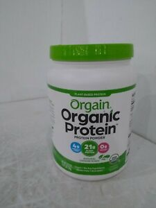 Orgain Organic Unflavored Plant Based Protein Powder, Natural Unsweetened - Vega