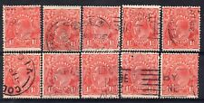 AUSTRALIA = GV 1-1/2d `Head`. 1926/30. Used. Unchecked for Shades, etc. (d)