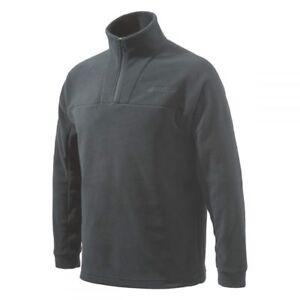 Beretta Half Zip Light Fleece in Black P3311