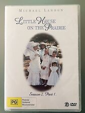 Little House On The Prairie : Season 2 : Part 1 (DVD, 2004, 3-Disc Set)